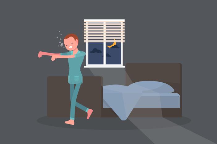 5 Gangguan yang Bisa Terjadi saat Tidur