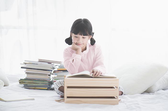 Begini Caranya Memupuk Keinginan Membaca Anak