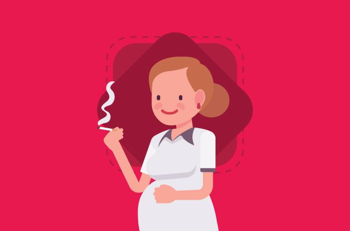 Bahaya Merokok Gambar Animasi Ini Dampak Bila Ibu Hamil Merokok