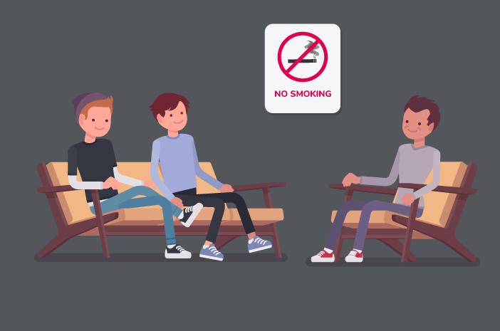Kelamaan Duduk Sambil Merokok Bisa Kena Penyakit Mematikan