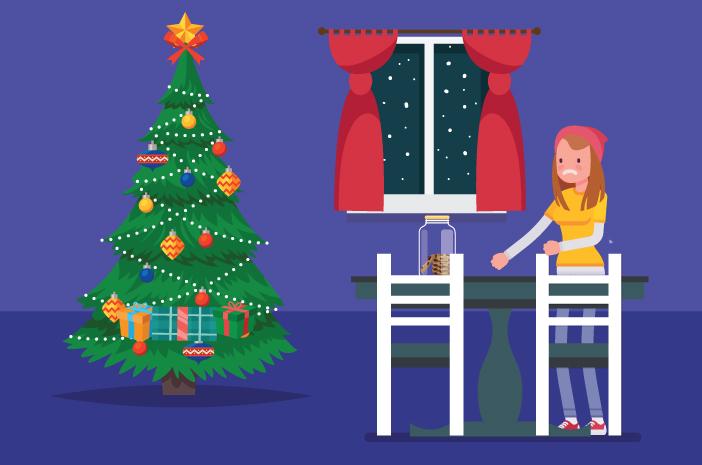 liburan natal enggak keluar rumah jangan stres hindari makanan ini