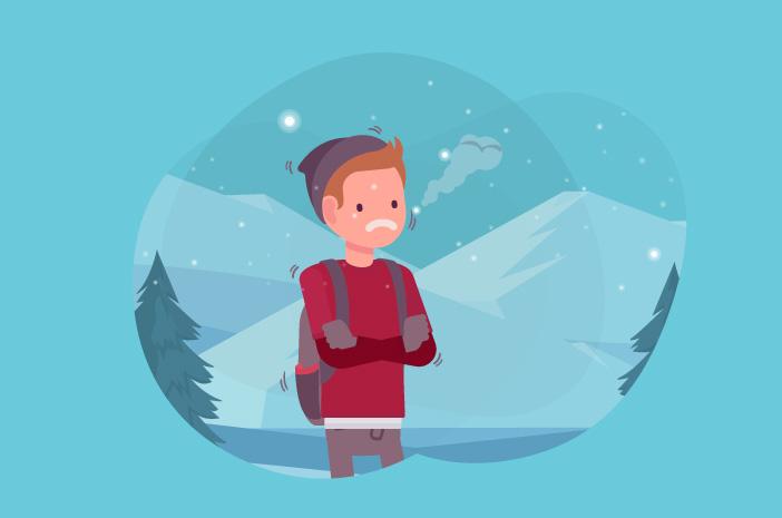 alergi dingin, gatal karena dingin