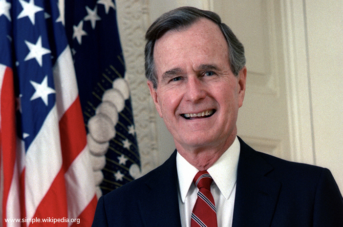 George Bush, Mantan Presiden Ke-41 AS Meninggal karena Parkinson