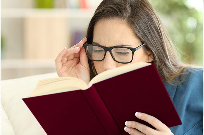 Mata Enggak Fokus, Mungkin Mengidap Presbiopi