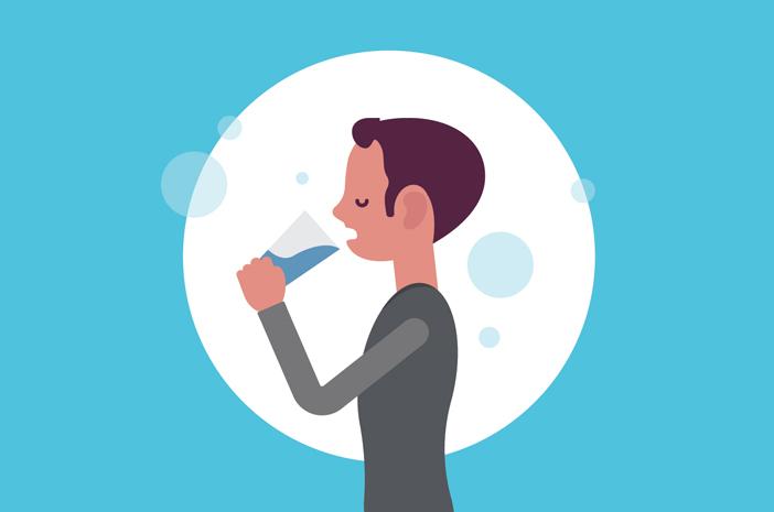 Minum Air Putih Lebih Banyak Bisa Cegah Infeksi Saluran Kemih