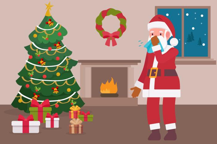 Alergi Natal? Coba Perhatikan 5 Pemicunya