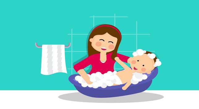 Cara Bersihkan Kulit Kepala Bayi dari Kerak