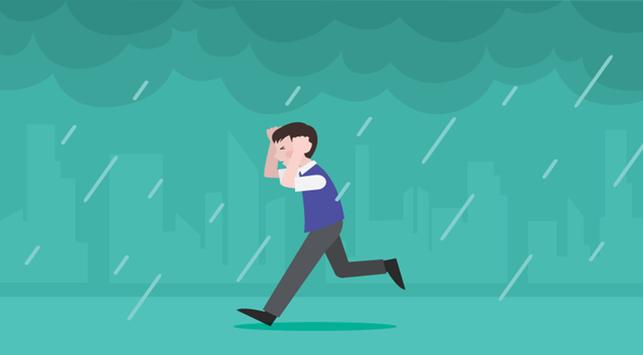 Tips Cegah Sakit Saat Kehujanan