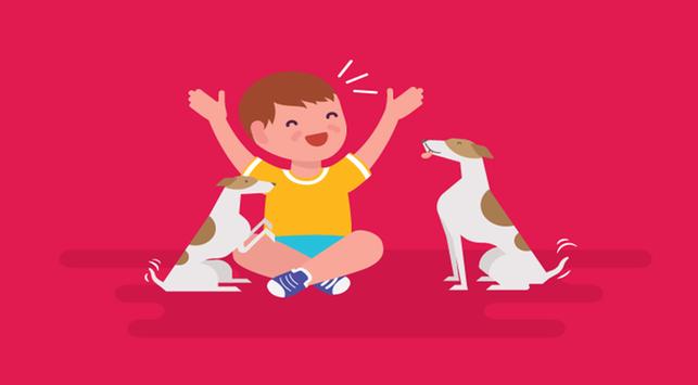 6 Manfaat Punya Hewan Peliharaan untuk Anak