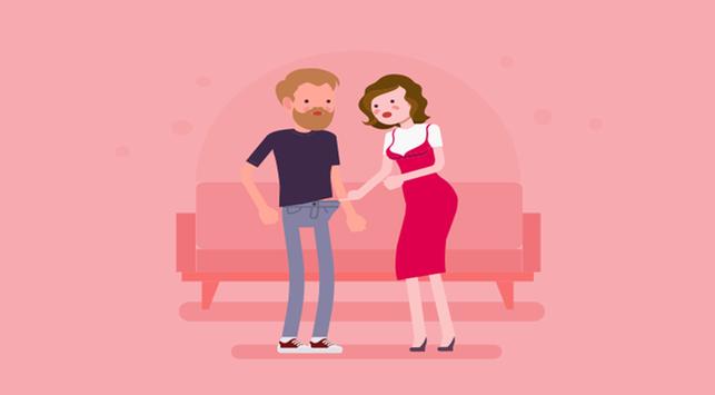 5 Posisi Hubungan Intim untuk Mr P Ukuran Kecil