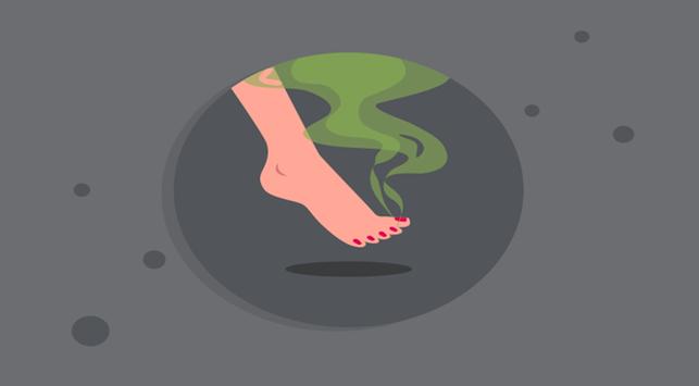 Bikin Ganggu, Cari Tahu 4 Penyebab Bau Kaki