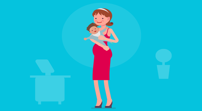 Meski Gemas, Bolehkah Ibu Hamil Menggendong Balita?