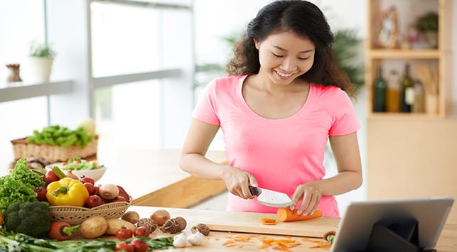 Tips Memasak Makanan Rendah Lemak