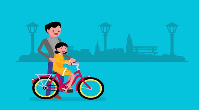 Kapan Saat yang Tepat Mengajarkan Anak Main Sepeda