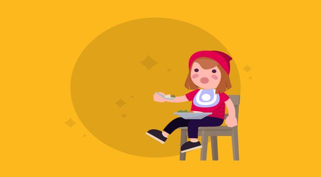 2 Cara Mengajari Anak Makan Sendiri