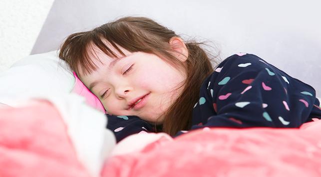 Bantu Anak Down Syndrome Tidur Nyenyak dengan Cara Ini!