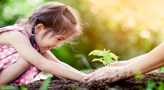 Trik Agar Anak Doyan Makan Sayur, Saatnya Berkebun