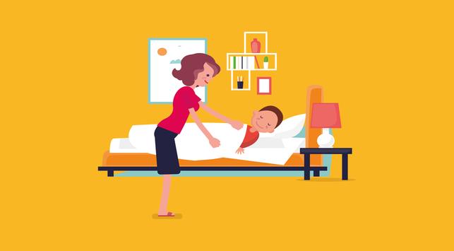 4 Tips Agar Si Kecil Berani Tidur Sendiri