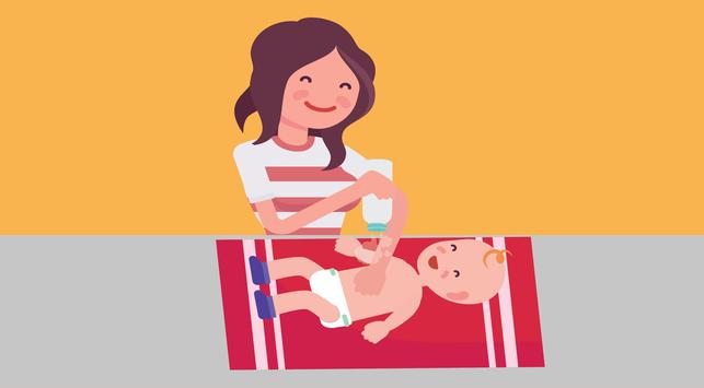 Bayi Pakai Bedak, Perlu atau Tidak?
