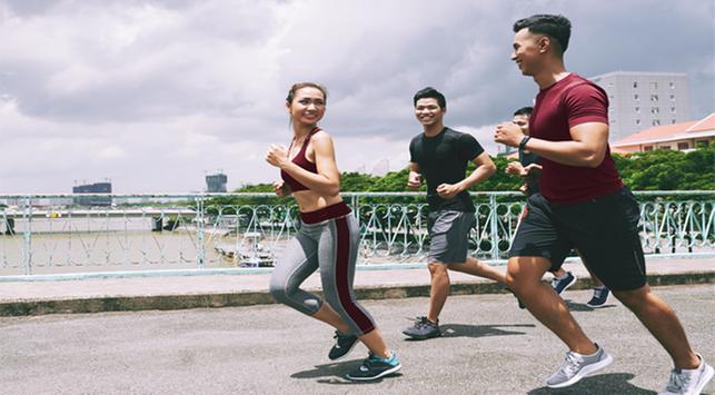 Lari, Olahraga yang Bisa Mengatasi Stres