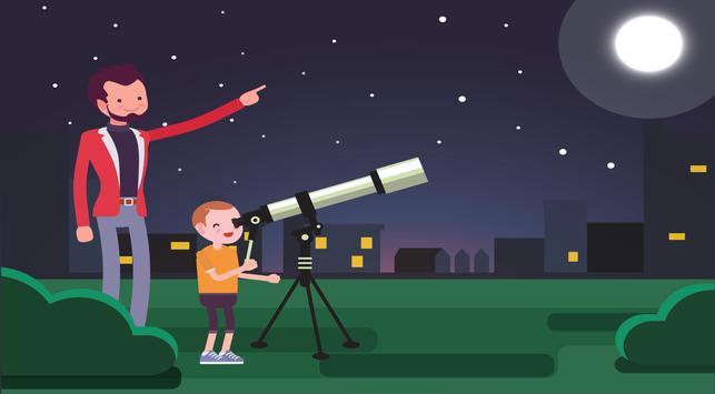 4 Manfaat Belajar Astronomi Untuk IQ Anak