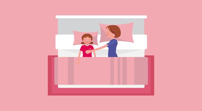 Selain Membaca Dongeng, Cara Ini Bisa Bantu Anak Cepat Tidur