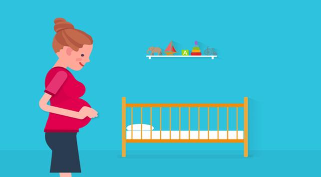 Ini Pergerakan Bayi di Dalam Kandungan