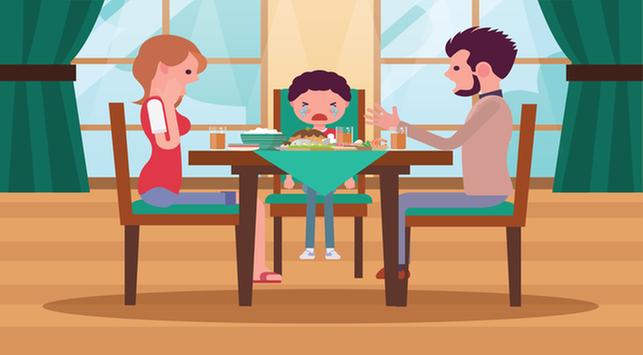 Tips Agar Anak Tak Rewel saat Buka Puasa di Luar Rumah