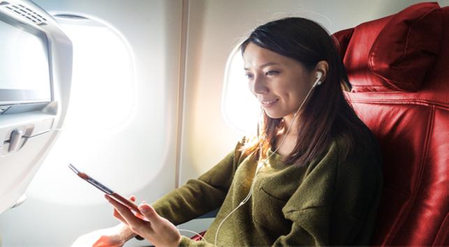 4 Tips Menaklukan Rasa Takut Naik Pesawat