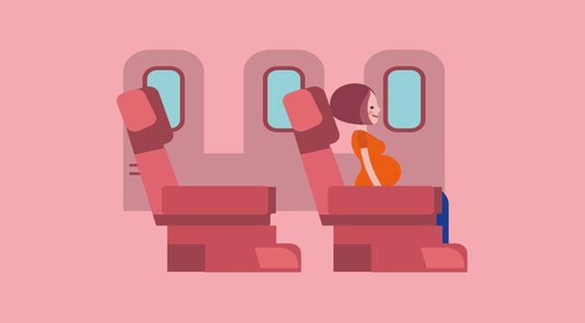 Ibu Hamil Naik Pesawat, Amankah?
