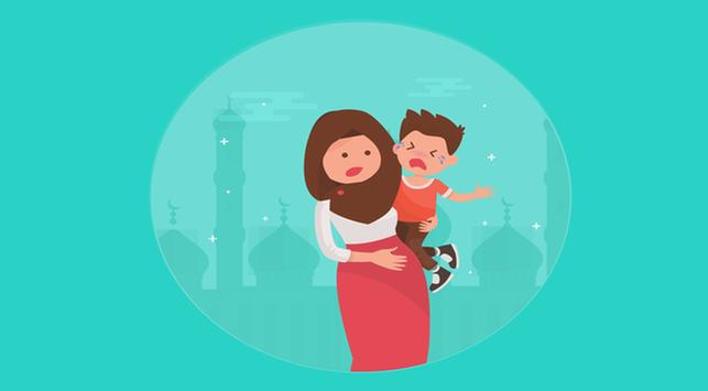 7 Tips Mengatasi Anak Rewel Saat Bersilahturahmi di Hari Raya