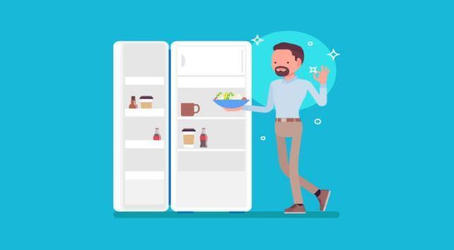 Porsi Makan Lebih Sedikit, 4 Tips Menyimpan Makanan Saat Puasa