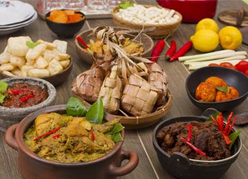 tradisi Idul Fitri dari berbagai daerah, hidangan lebaran, kuliner Indonesia