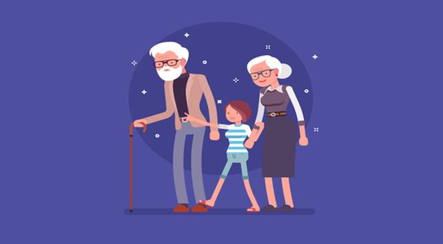 mengatasi anak manja, kasih sayang kakek dan nenek, anak manja