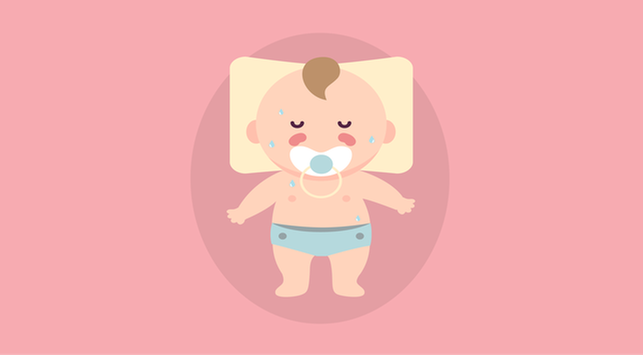 Bayi Berkeringat Saat Terlelap, Normalkah?