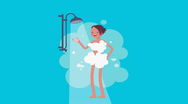 manfaat mandi pagi, kesehatan kulit, manfaat mandi dengan air dingin