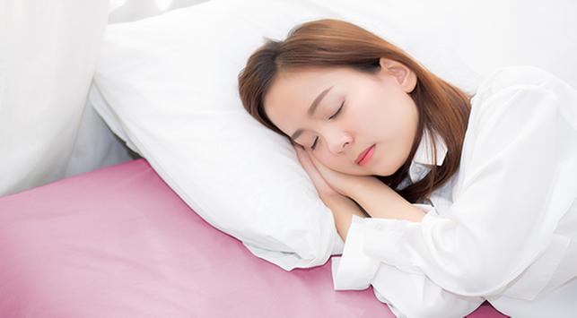 cara tidur nyenyak, tidur nyenyak, asupan nutrisi