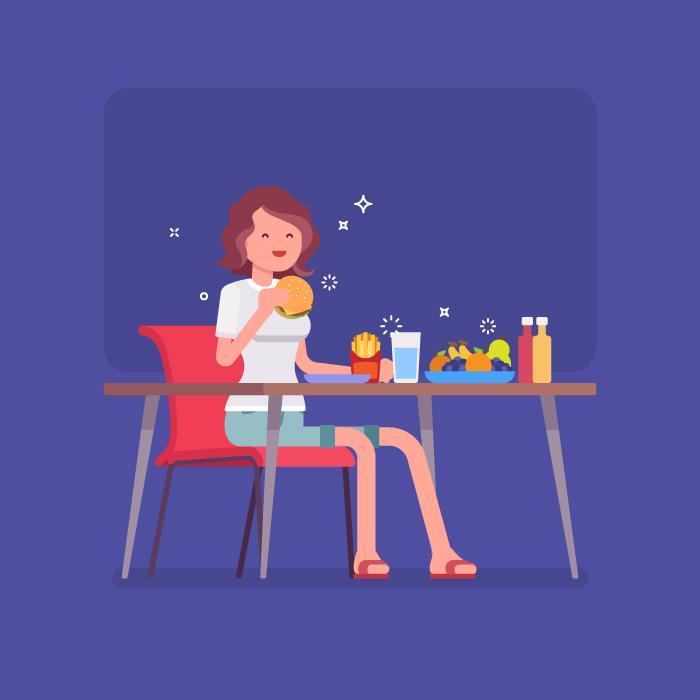 Makanan yang perlu dikonsumsi setelah makan junk food, junk food, makanan junk food, makan junk food
