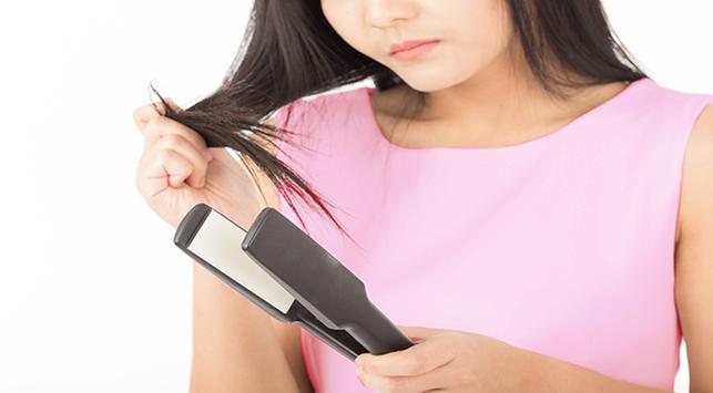 dampak mencatok rambut, akibat sering mencatok rambut, tips merawat rambut sebelum dicatok