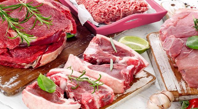 Daging sapi, daging kambing