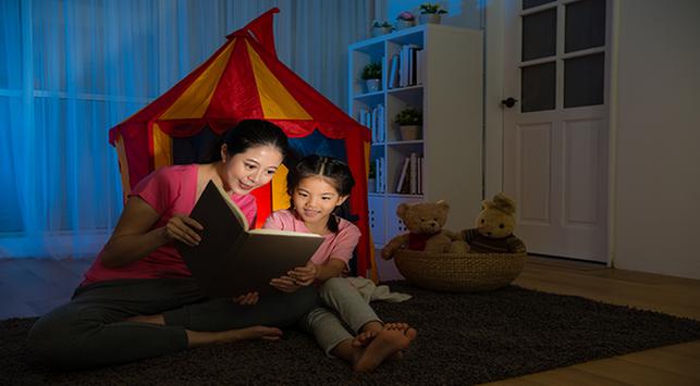 manfaat baca cerita sebelum tidur