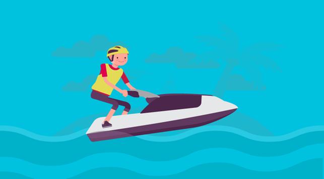 Jet ski, manfaat olahraga jet ski
