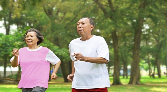 agar tetap fit,tetap fit di usia 40an
