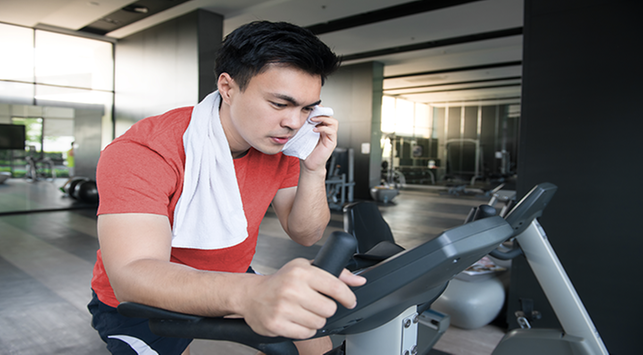Olahraga,berkeringat,membakar kalori