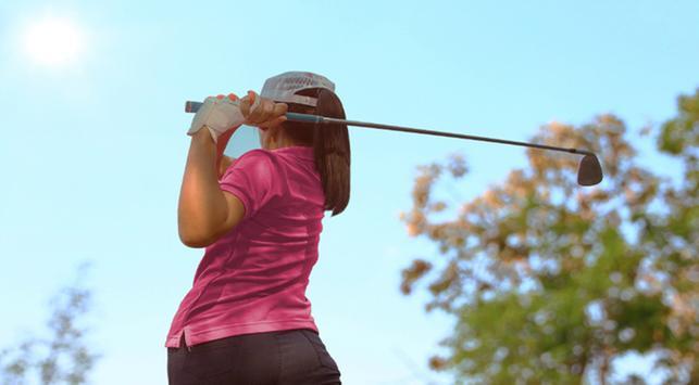 Golf, asian games, manfaat golf, menghilangkan stres
