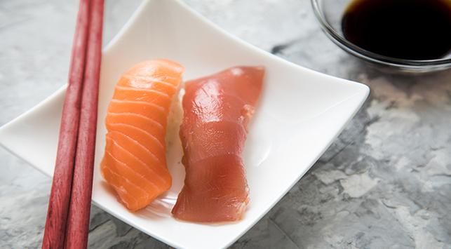 ikan tuna, ikan salmon