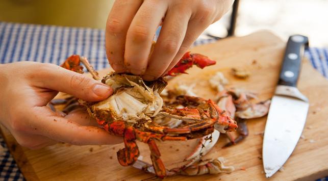 manfaat kepiting, manfaat seafood, makanan pemicu kolesterol