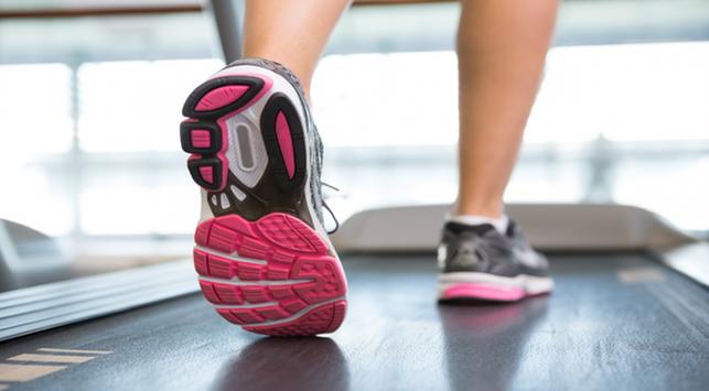 lahraga lari, fitness, treadmill, lari di lapangan