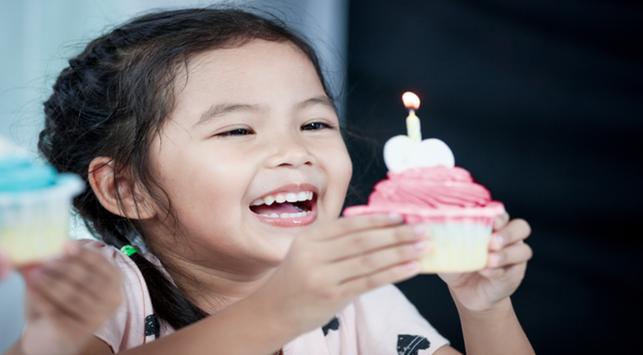 Merayakan ulang tahun anak, dampak psikologi ke anak
