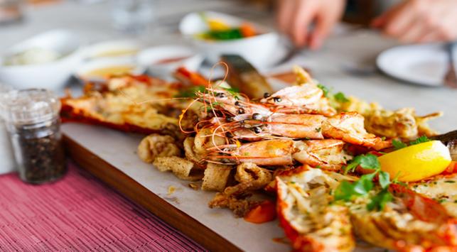 seafood, atasi kolesterol tinggi, makanan laut